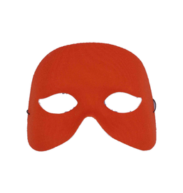 MASK-COCKTAIL HALF MASK, RED