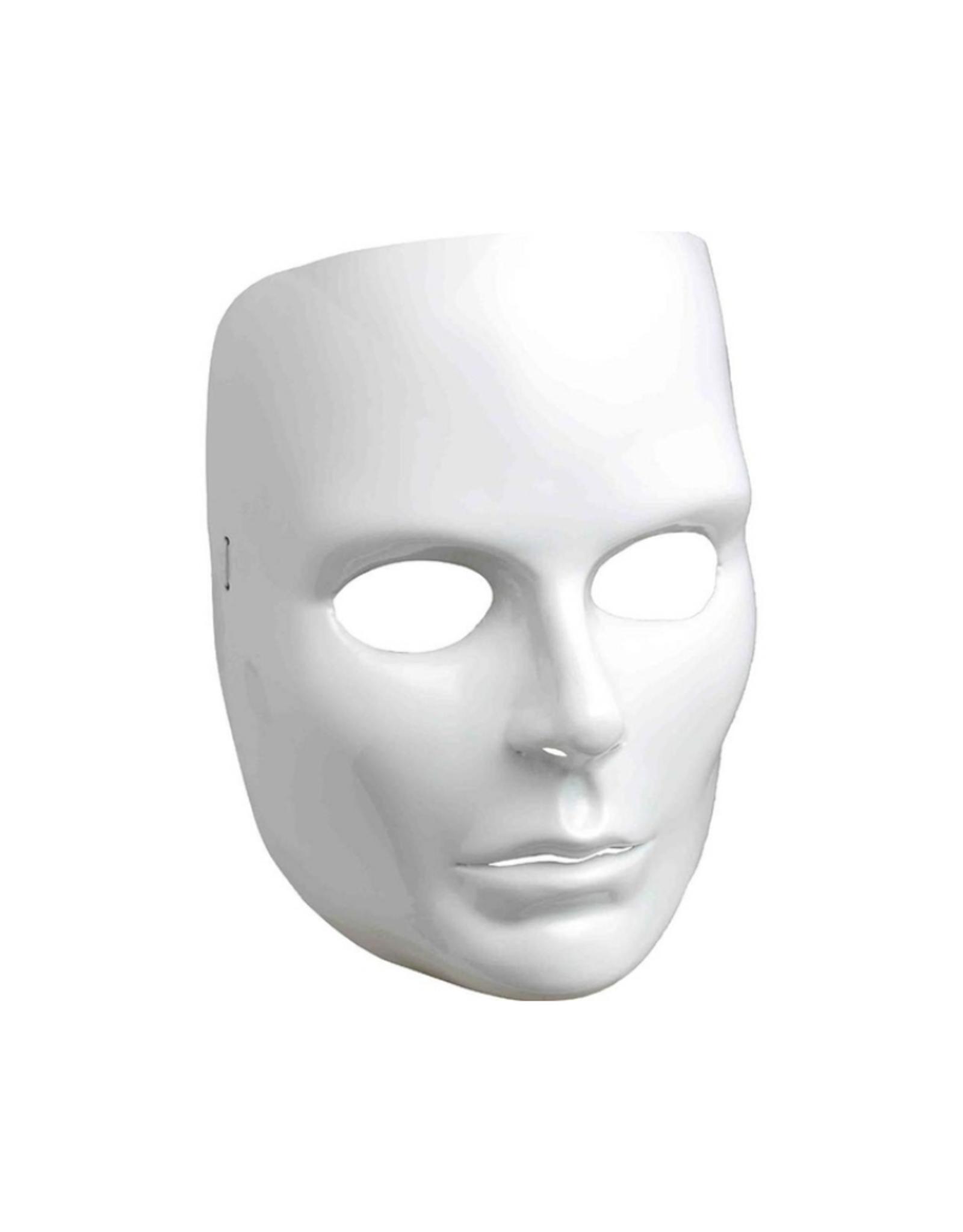 MASK-WHITE FULL FACE, FEMALE