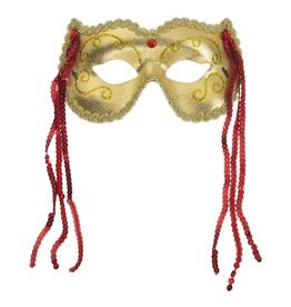 MASK-GRAND FESTIVE GOLD/RED