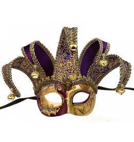KBW Global Corp MASK-JESTER, PURPLE & GOLD
