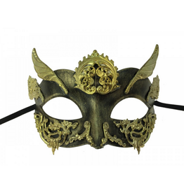 KBW Global Corp MASK-STEAM PUNK, BLACK, WINGED