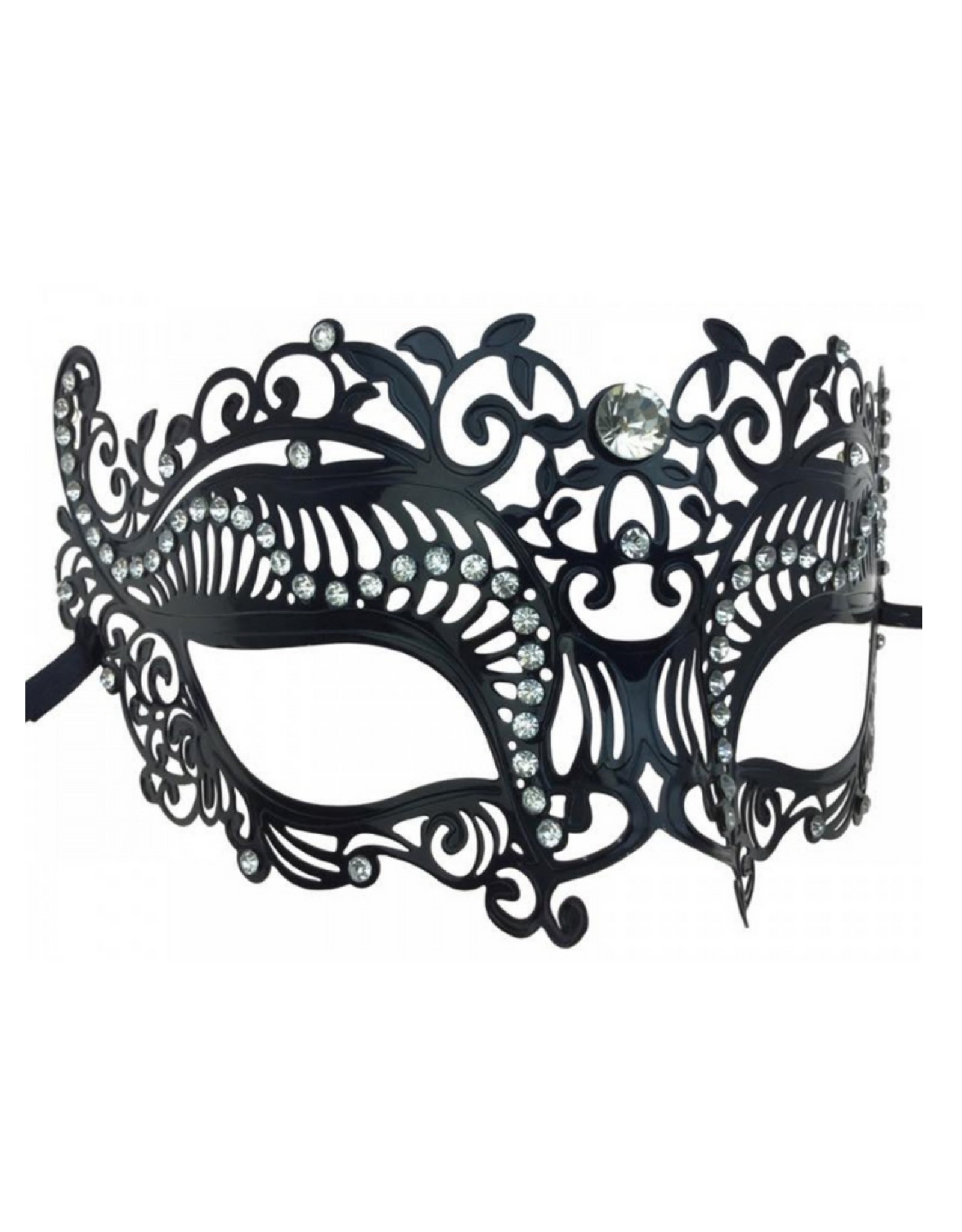 KBW Global Corp MASK-METAL-VENETIAN W/ RHINESTONES