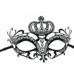 KBW Global Corp MASK-METAL-CROWN AND NOSE-BRIDGE W/ RHINESTONES