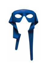 MASK-HERO, BLUE W/TIES