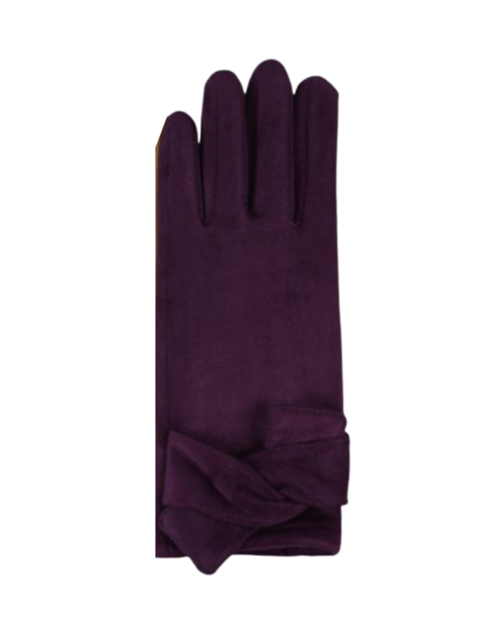 GLOVES-FASHION-FAUX SUEDE, TEXTING