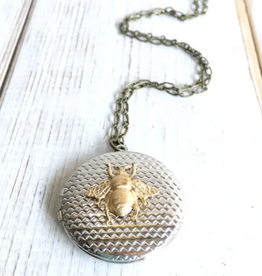 NECKLACE-BEE LOCKET