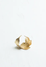 RING-GOLD BOHO OAK LEAF