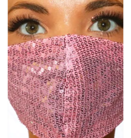 FACE MASK-SEQUINS FASHION