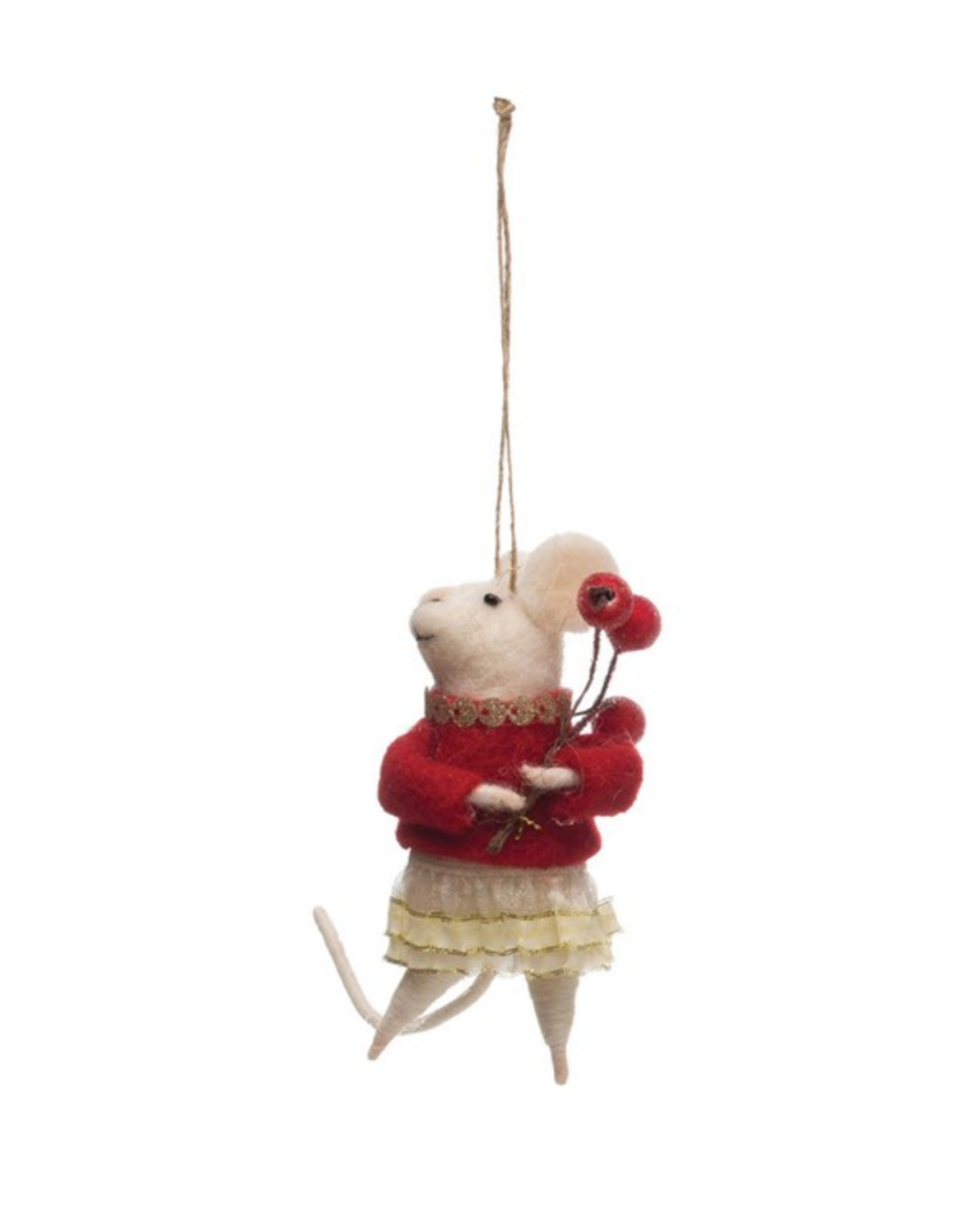 ORNAMENT-MOUSE IN OUTFIT