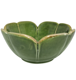 BOWL-LILY PAD, CLOVER