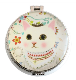 TRINKET BOX-ROYAL CAT, CERAMIC