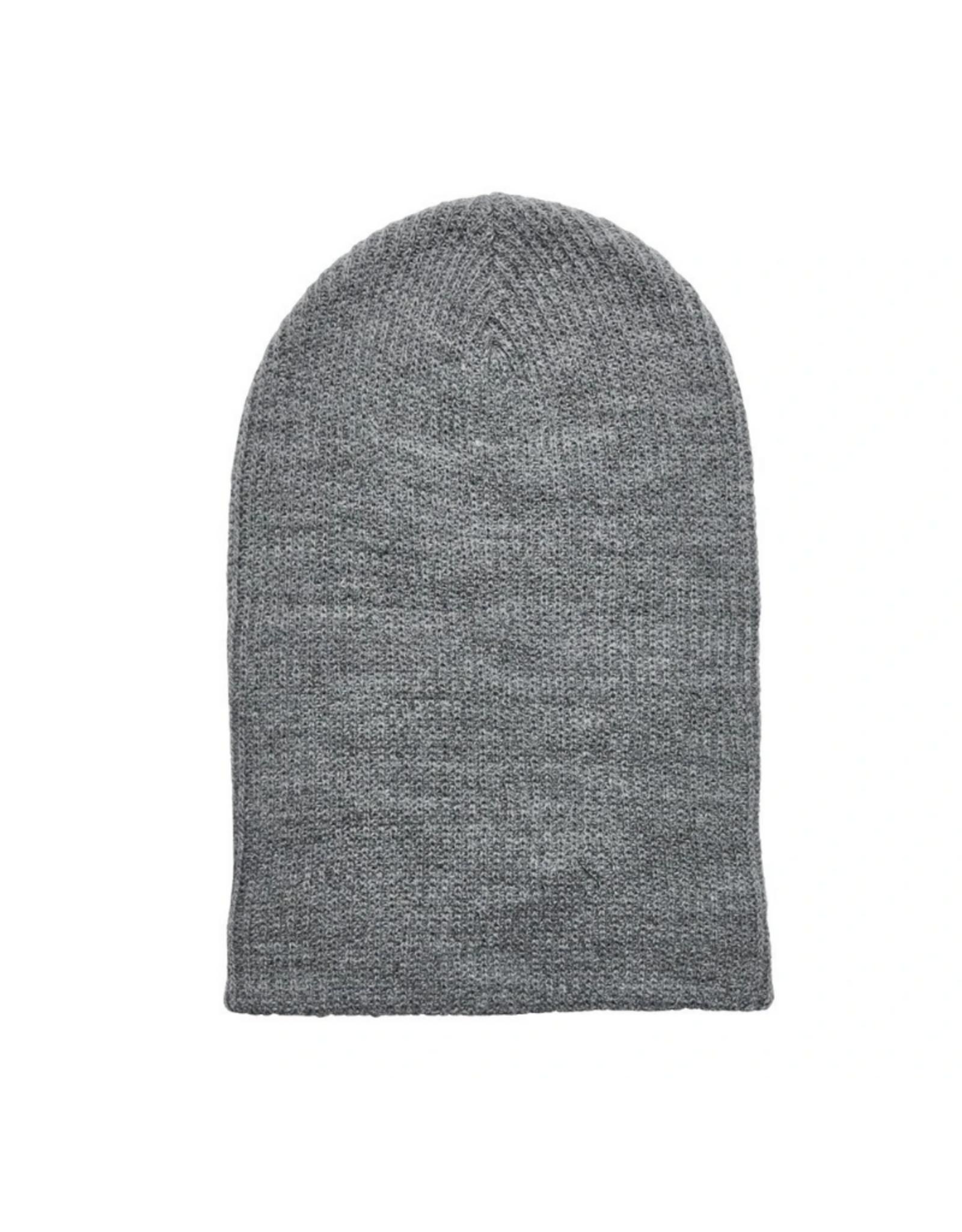 HAT-KNIT BEANIE-SLOUCHY