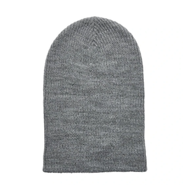 HAT-KNIT BEANIE-SLOUCHY