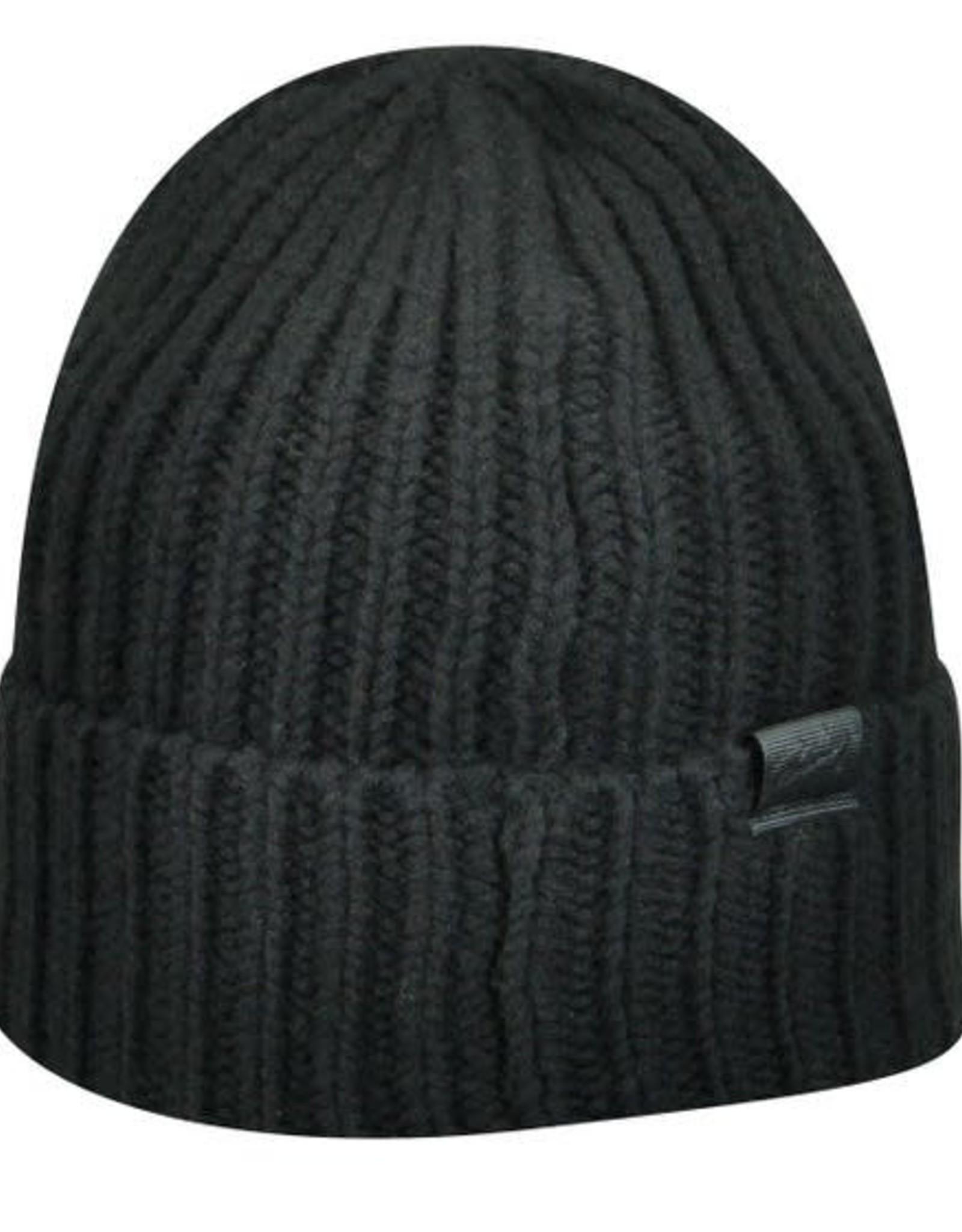 Bailey Hat Co. HAT-KNIT BEANIE, FISHERMAN, LAMBS WOOL, BLK,O/S