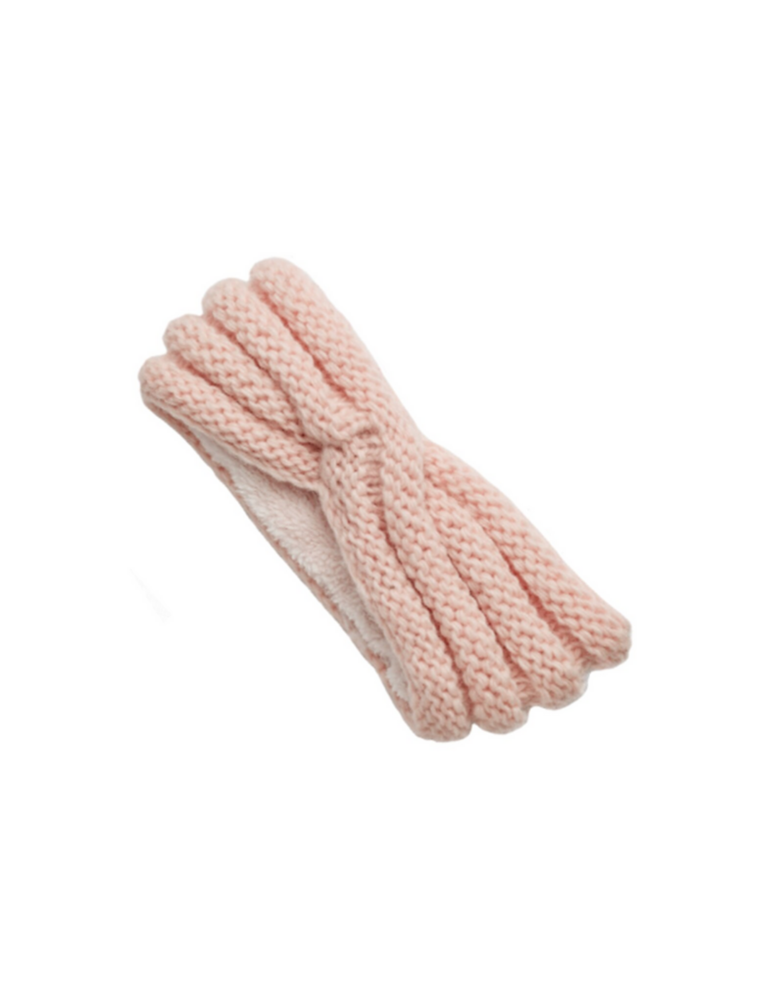 HEADBAND-KNIT-VERONICA, PINK QUARTZ
