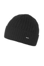 HAT-KNIT BEANIE-GRACIA, BLACK