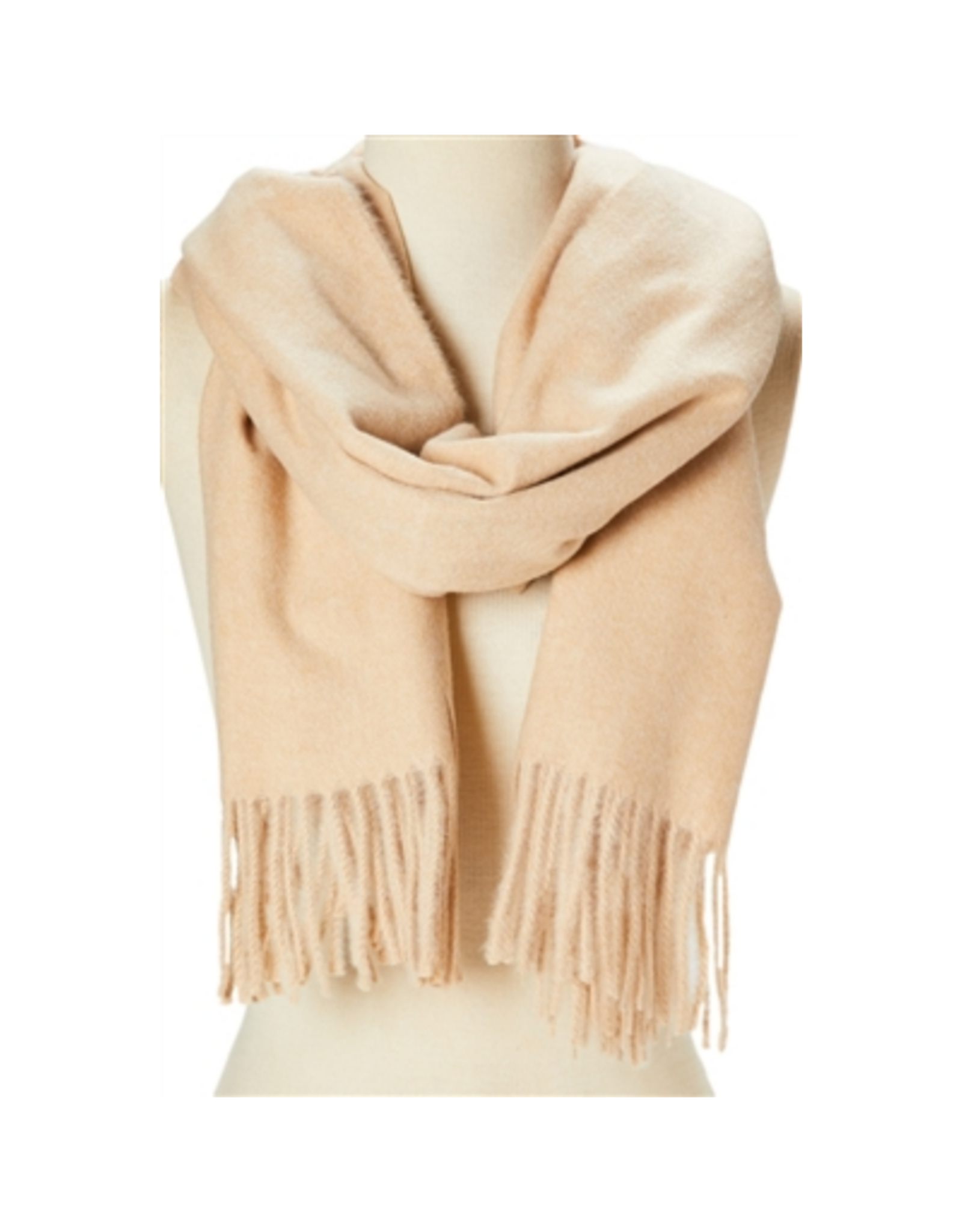 SCARF-CASHMERE MARBLED