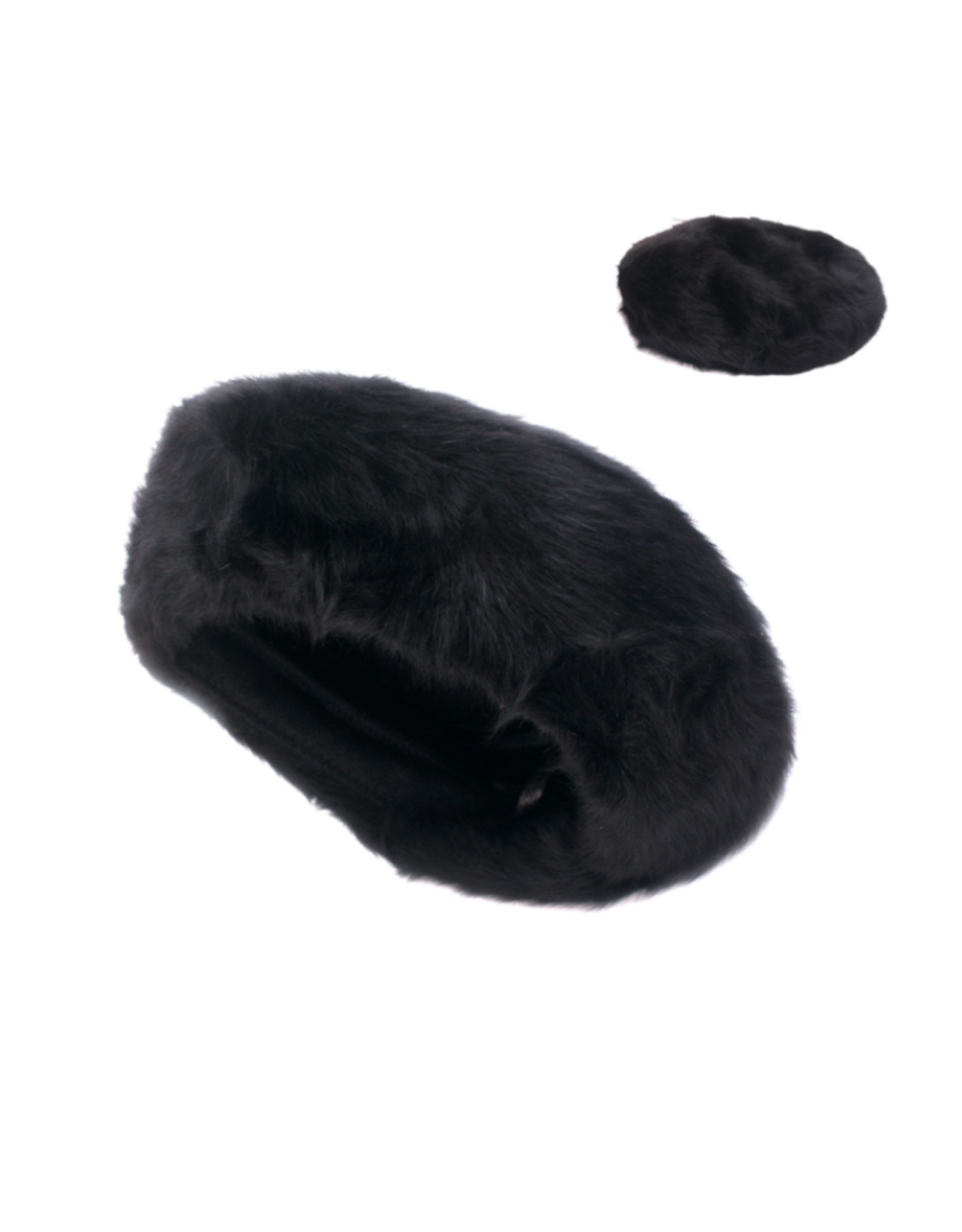 HAT-BERET-FAUX FUR CLASSIC LOOK