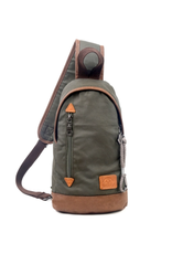 SLING BAG-URBAN LIGHT-COATED CANVAS