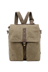 BACKPACK-COASTAL CANVAS MAIL STYLE