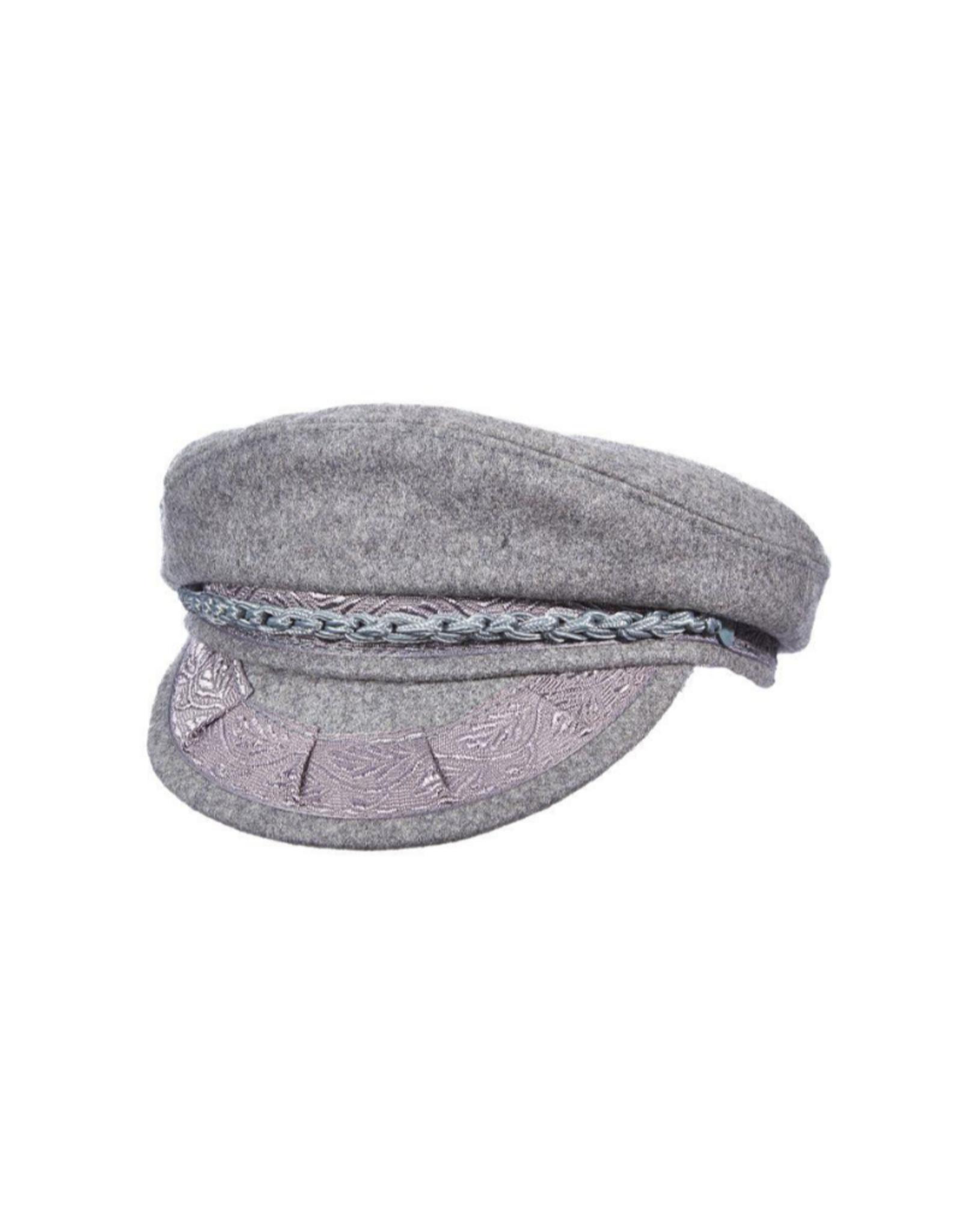 """HAT-FISHERMAN CAP """"SANTORINI"""" WOOL"""