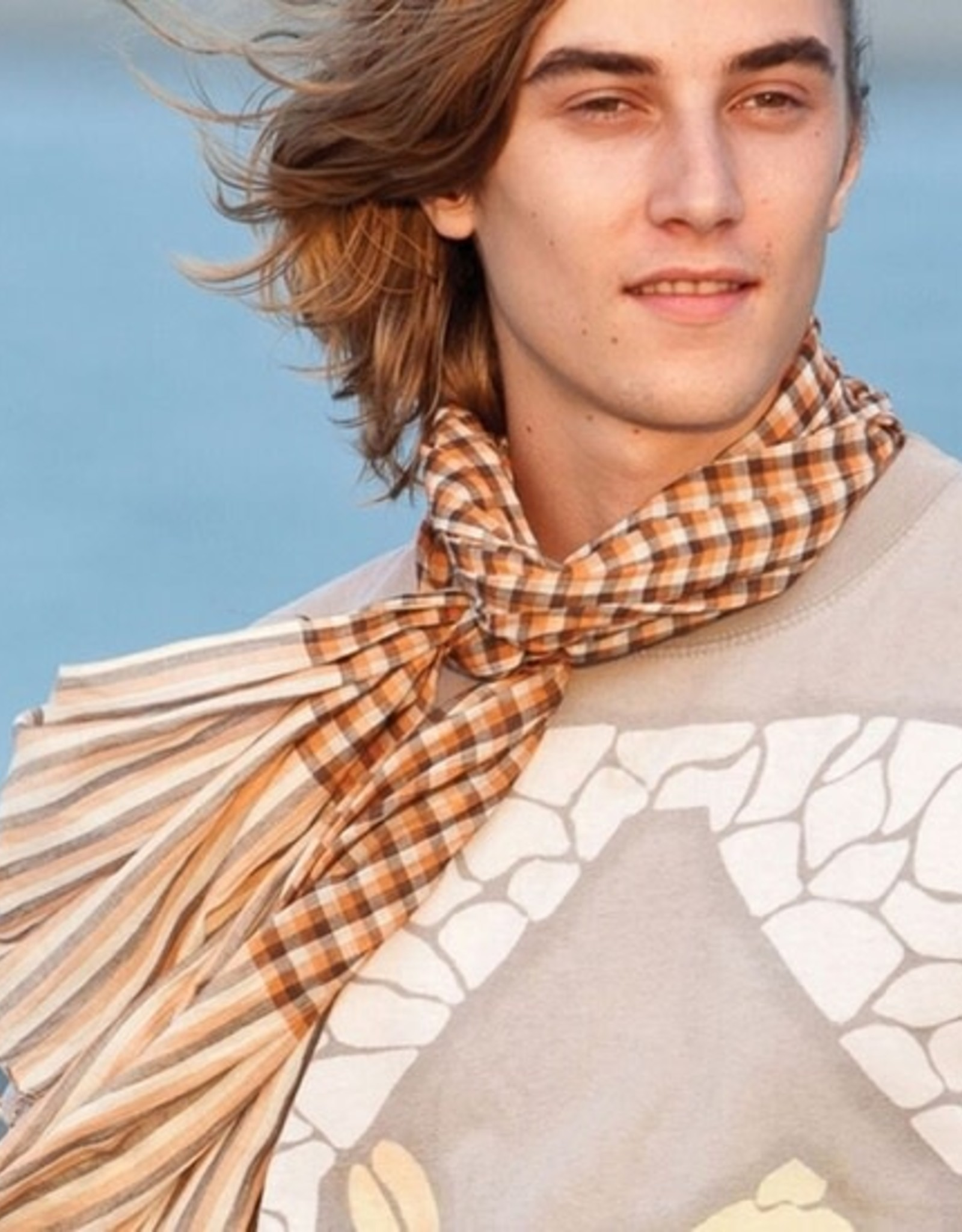 Faire/Sevya Handmade SCARF-SOFTEST COTTON PLAID