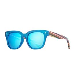 SUNGLASSES-AUSTYN FROST CRYSTAL BLUE / RAINBOW