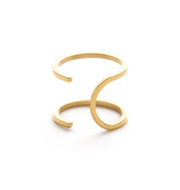 Faire/Minds Eye Design RING-WRAP, GOLD