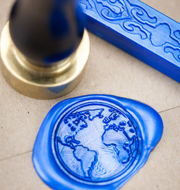 WAX SEAL-PLANET EARTH, BLUE