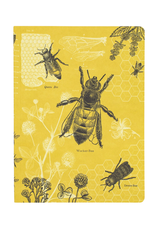 NOTEBOOK-LINED-BEES, SOFTCOVER