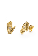 Faire/Amano Studio EARRINGS-MYSTIC HAND STUDS
