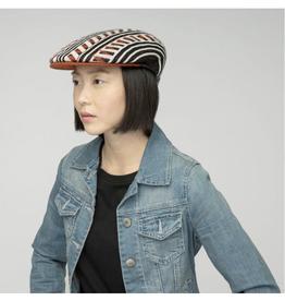 "Kangol HAT-IVY CAP ""RETRO GEO 504"" PATTERN"