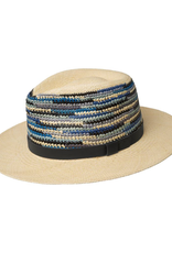 "Bailey Hat Co. HAT-PANAMA ""TASMIN"" W/WOVEN SIDES AND LEATHER BAND"