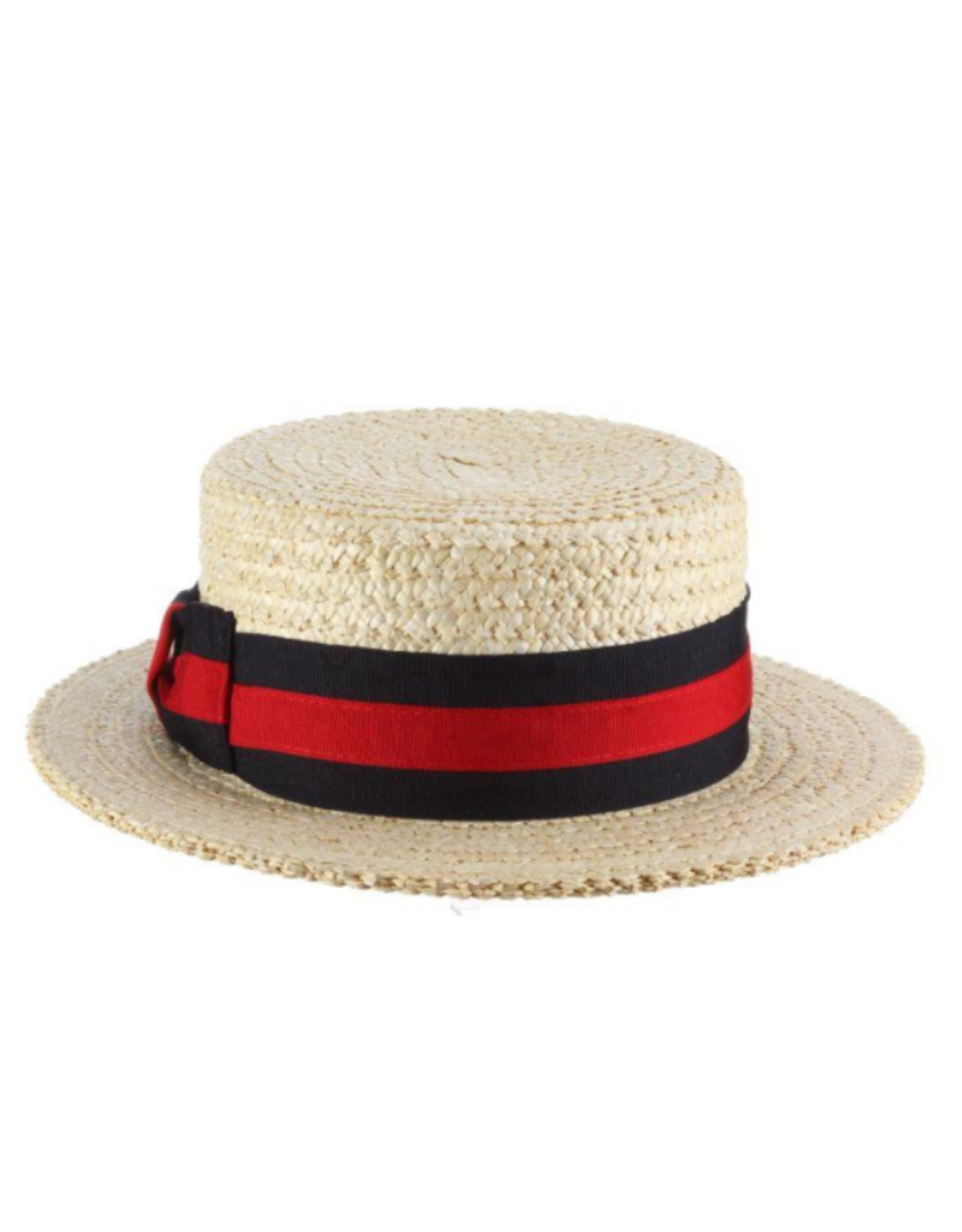 "HAT-BOATER ""GONDOLA"" CLASSIC W/STRIPED BAND"