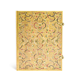 """JOURNAL """"GOLD INLAY"""" ULTRA, LINED, 7"""" x 9"""""""