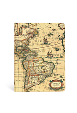 "JOURNAL ""WESTERN HEMISPHERE"" MIDI, LINED, 4 3/4"" x 6 3/4"""