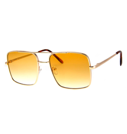 SUNGLASSES-ISSUE-GOLD/AMBER