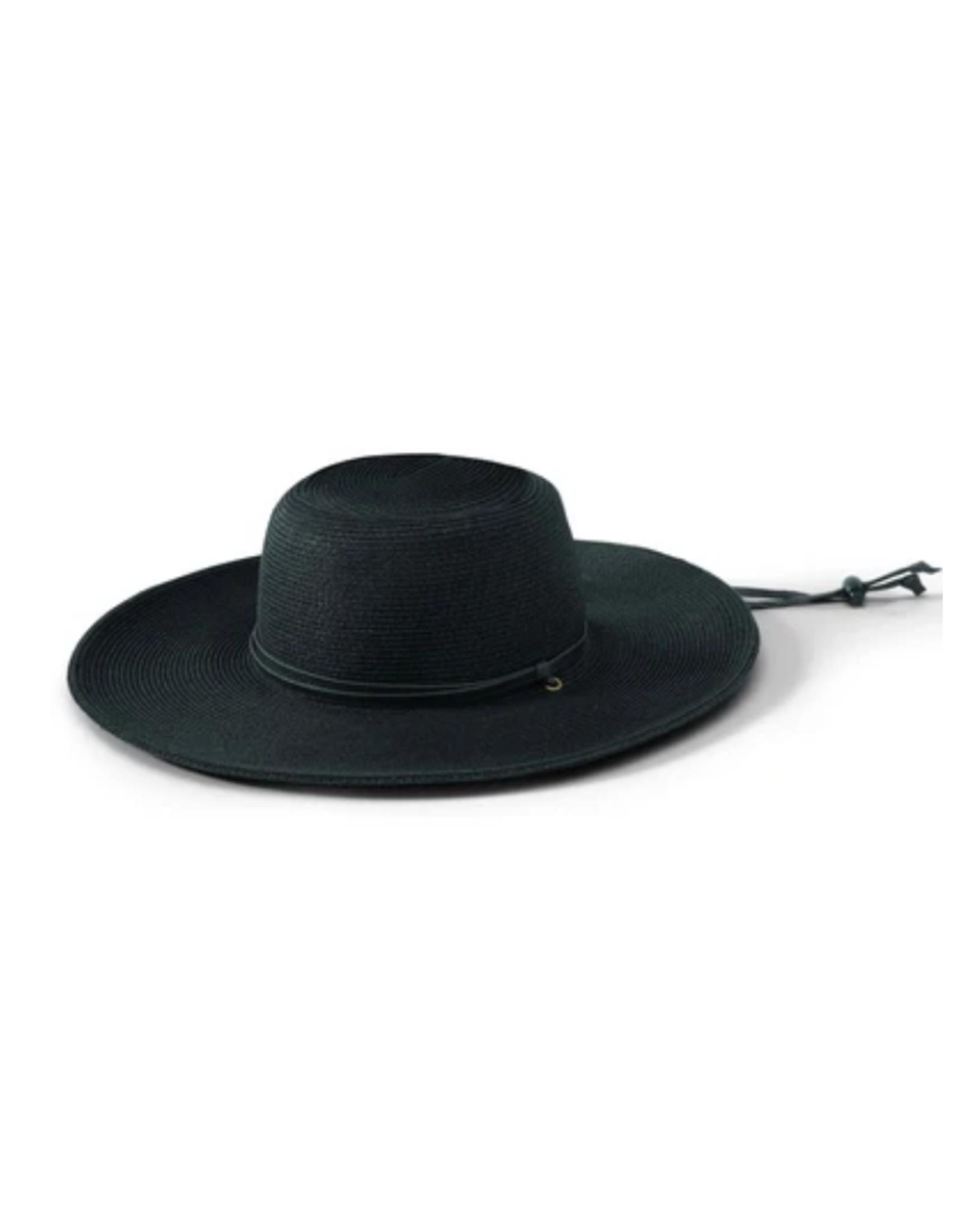 """HAT-WIDE BRIM """"COMPANY'S PERFECT"""" W/CHIN STRAP"""