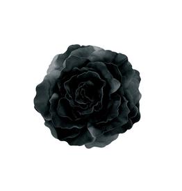 "HEADWEAR-DECORATION-XL FLOWER PIN 7"" ROSE, SILK"