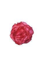 "HEADWEAR-DECOR FLOWER, LARGE 2TONE,6"" SILK"