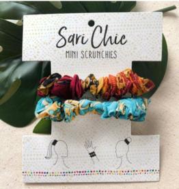 Faire/WorldFinds SCRUNCHIE-SARI CHIC MINI