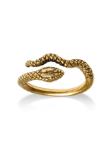 Faire/Museum Reproductions RING-EGYPTIAN SNAKE GOLD
