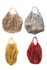 "MARKET BAG-COTTON CROCHET, 15""L x 10.5""H"