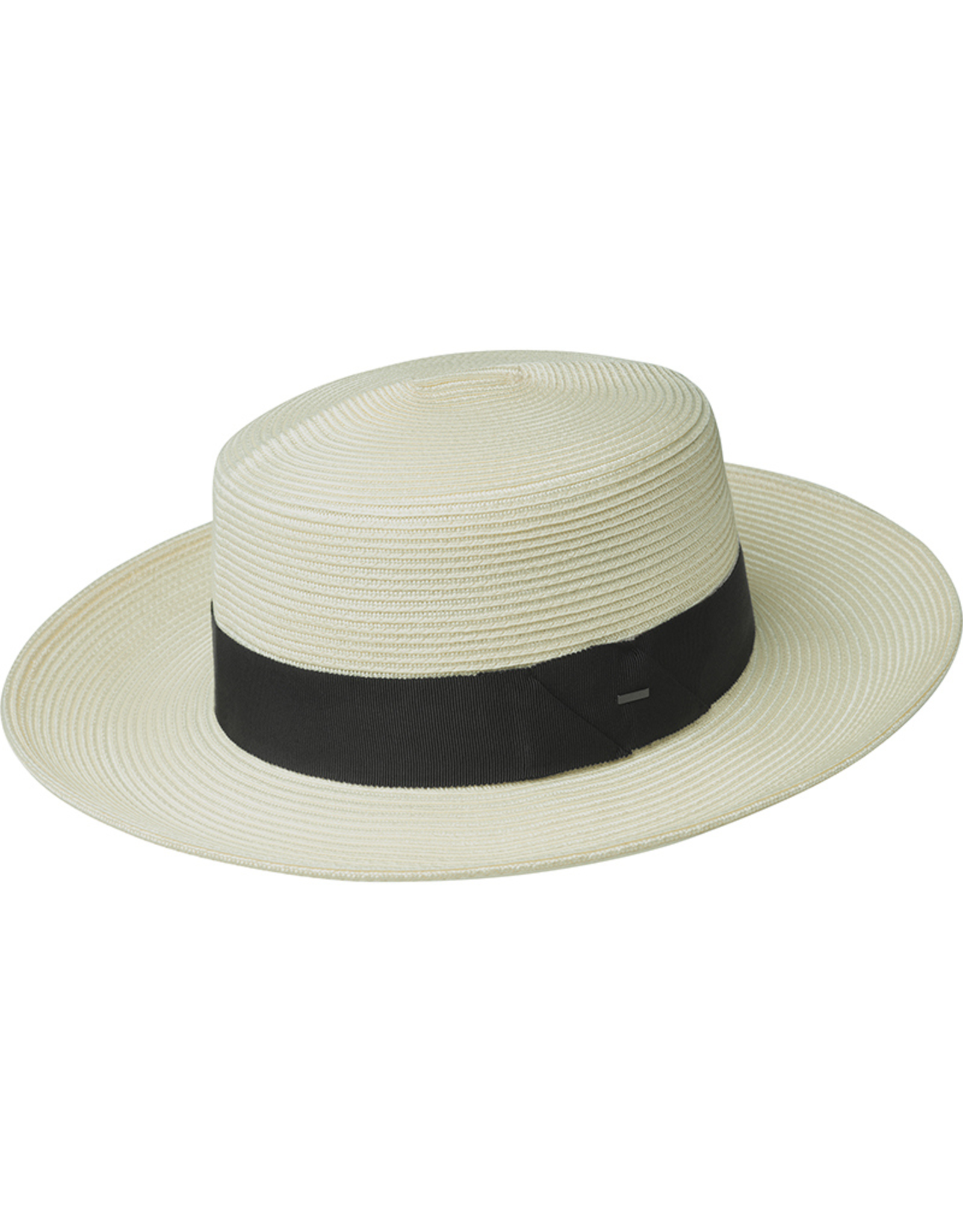 "Bailey Hat Co. HAT-WIDE BRIM ""TIM"" FLAT STRAW"