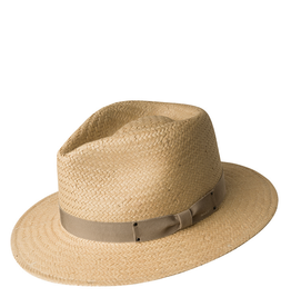 """Bailey Hat Co. HAT-FEDORA """"SPENCER"""" STRAW"""