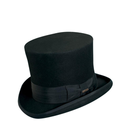 HAT-TOP HAT- MAD HATTER, WOOL FELT