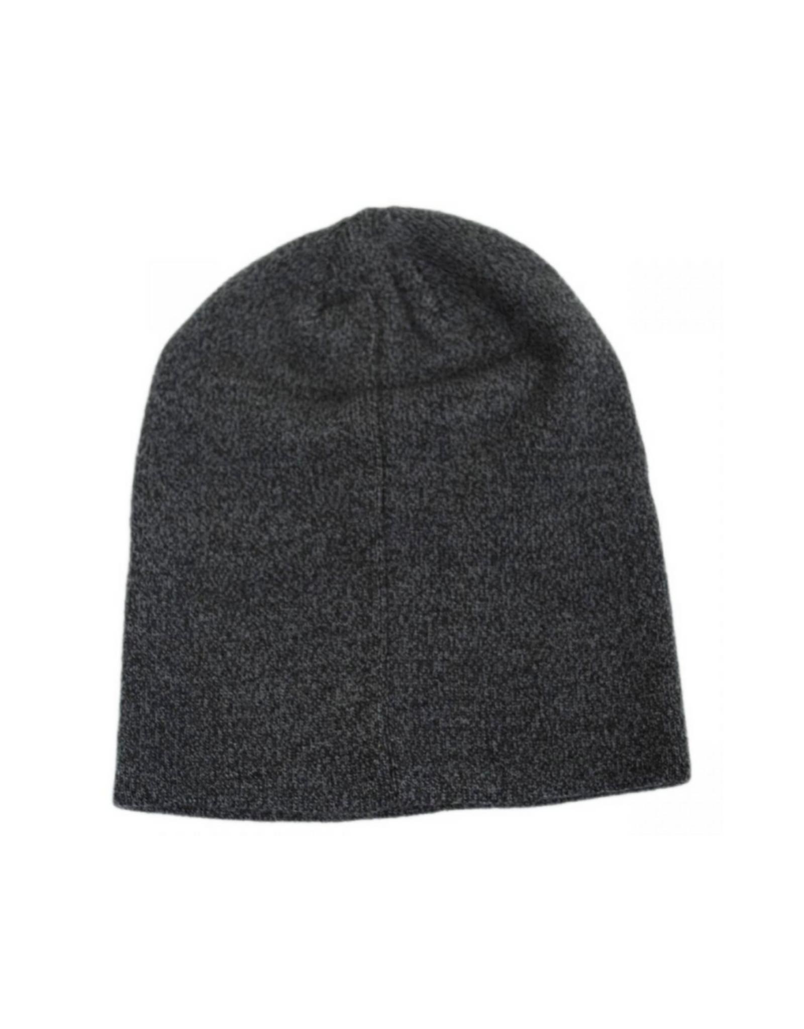 HAT-KNIT BEANIE-SLOUCHY, SHREDDER
