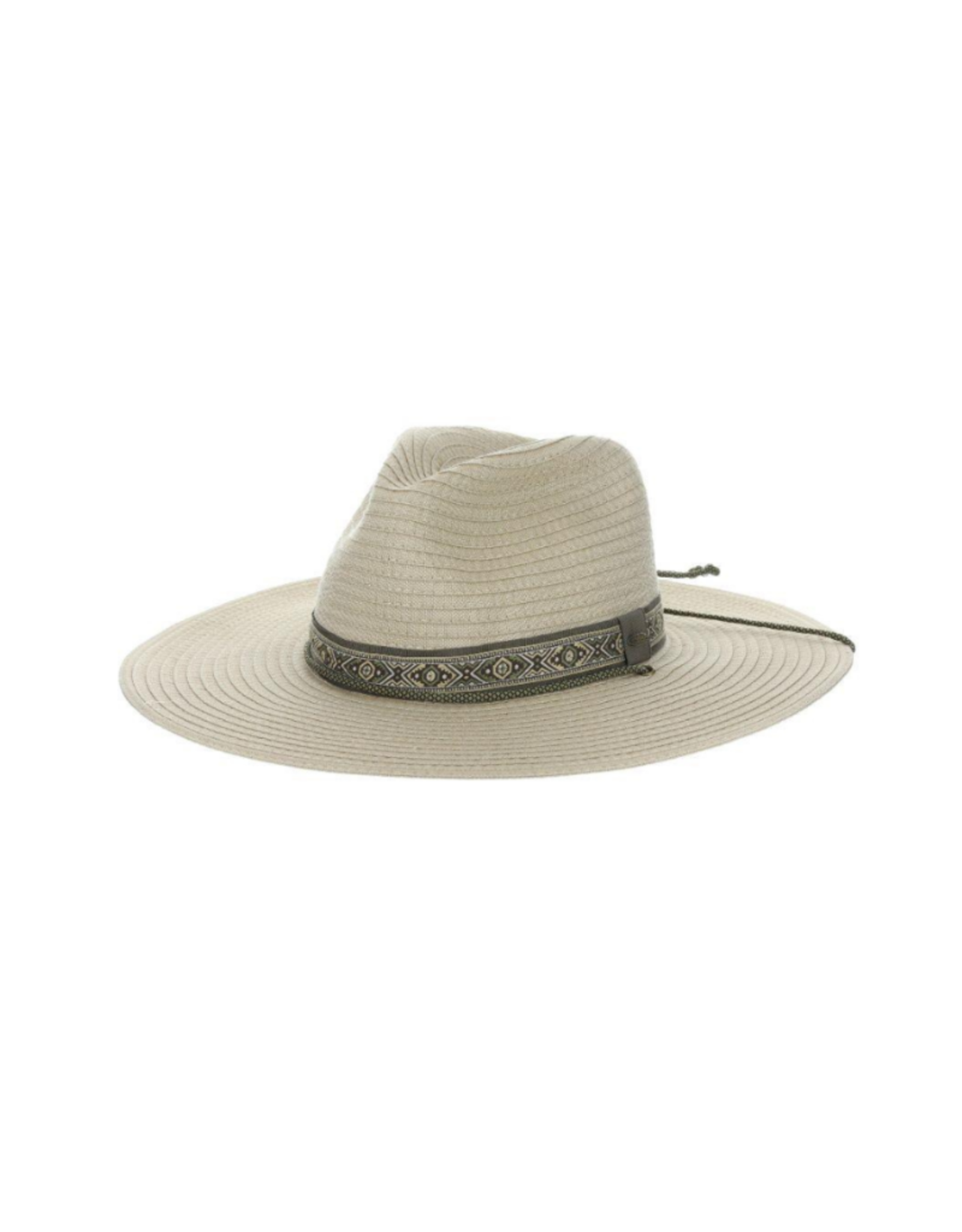 """HAT-WIDE BRIM """"HIGH COUNTRY"""" W/CORD"""
