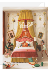 """Faire/Janet Hill Studio CARD-BIRTHDAY """"HOPE IT'S A HIT"""""""