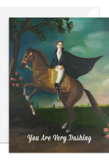 """Faire/Janet Hill Studio CARD-BLANK """"YOU ARE VERY DASHING"""""""